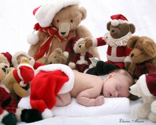 أجمل اطفال الكريسماس
